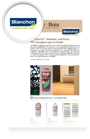 Newsletter Blanchon