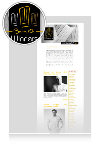 Newsletter Bocuse Dor