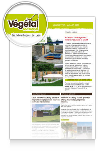 Newsletter Vegetal Concept