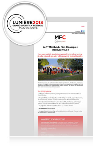 Newsletter Lumiere2013